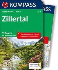 Kompass Wanderführer Zillertal, m. 1 Karte - Wolfgang Heitzmann |