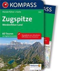 KOMPASS Wanderführer Zugspitze, Werdenfelser Land, m. 1 Karte - Siegfried Garnweidner |