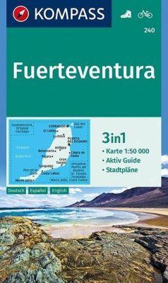 KOMPASS Wanderkarte Fuerteventura -  pdf epub