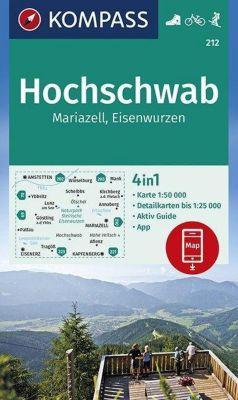 KOMPASS Wanderkarte Hochschwab, Mariazell, Eisenwurzen -  pdf epub