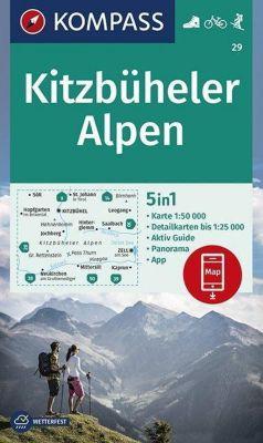 KOMPASS Wanderkarte Kitzbüheler Alpen -  pdf epub