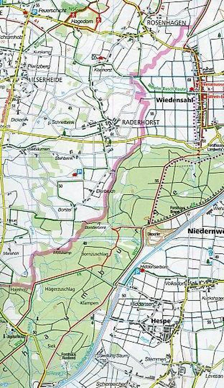 Kompass Wanderkarte Kompass Wanderkarten Set Hannover Und