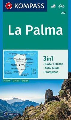 KOMPASS Wanderkarte La Palma