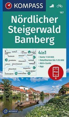 KOMPASS Wanderkarte Nördlicher Steigerwald, Bamberg -  pdf epub