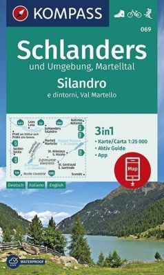 KOMPASS Wanderkarte Schlanders und Umgebung, Martelltal,Silandro e dintorni, Val Martello -  pdf epub