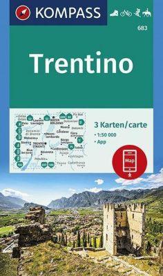 KOMPASS Wanderkarte Trentino