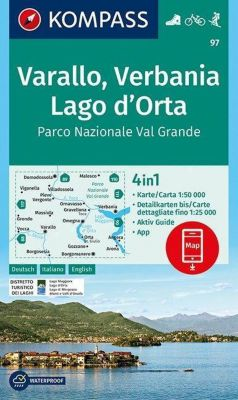 KOMPASS Wanderkarte Varallo, Verbania, Lago d'Orta, Parco Nazionale Val Grande -  pdf epub