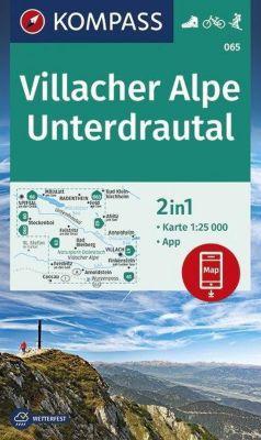 KOMPASS Wanderkarte Villacher Alpe, Unterdrautal -  pdf epub
