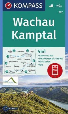 KOMPASS Wanderkarte Wachau, Kamptal -  pdf epub