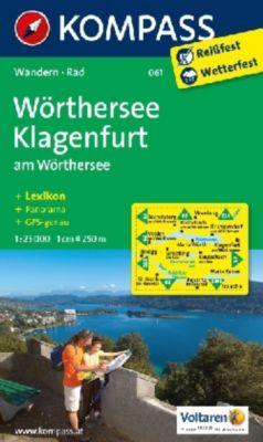 KOMPASS Wanderkarte Wörthersee - Klagenfurt am Wörthersee -  pdf epub
