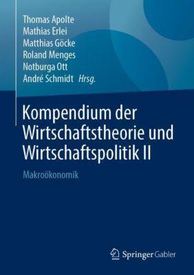 Kompendium der Wirtschaftstheorie und Wirtschaftspolitik II -  pdf epub