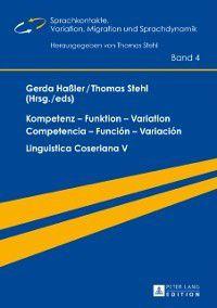 Kompetenz - Funktion - Variation / Competencia - Funcion - Variacion