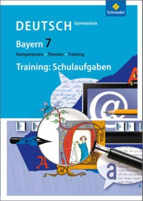 kompetenzen themen training deutsch gymnasium bayern 7 schuljahr training schulaufgaben. Black Bedroom Furniture Sets. Home Design Ideas