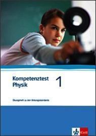 Kompetenztest Physik: Bd.1 7./8. Schuljahr, Arbeitsheft