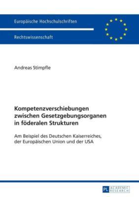Kompetenzverschiebungen zwischen Gesetzgebungsorganen in föderalen Strukturen, Andreas Stimpfle