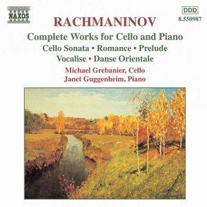 Kompl.Werke Für Cello U.Klavi, M. Grebanier, J. Guggenheim