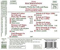 Kompl.Werke Für Cello U.Klavi - Produktdetailbild 1