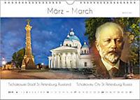 Komponisten-Kalender 2019, Städte und Komponisten. DIN-A-3 - Produktdetailbild 3