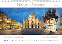 Komponisten-Kalender 2019, Städte und Komponisten. DIN-A-3 - Produktdetailbild 2