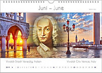 Komponisten-Kalender 2019, Städte und Komponisten. DIN-A-3 - Produktdetailbild 6