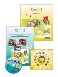 Konfi 3, Begleit-Heft für Kinder und Werkbuch für Gruppenbegleiter/innen, 2 Bde. m. Spielplan u. CD-ROM