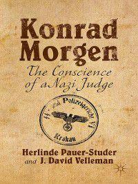 Konrad Morgen, Herlinde Pauer-Studer, J. David Velleman