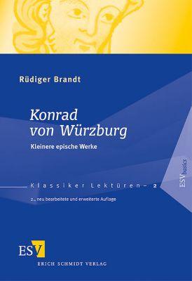 Konrad von Würzburg, Kleinere epische Werke, Rüdiger Brandt