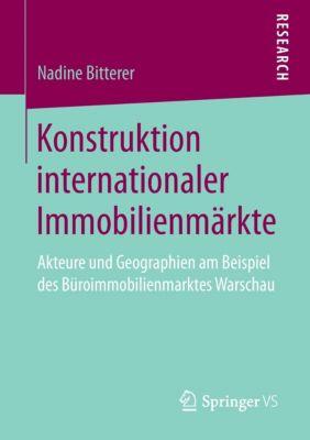 Konstruktion internationaler Immobilienmärkte, Nadine Bitterer