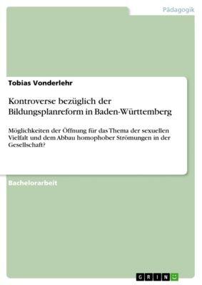 Kontroverse bezüglich der Bildungsplanreform in Baden-Württemberg, Tobias Vonderlehr