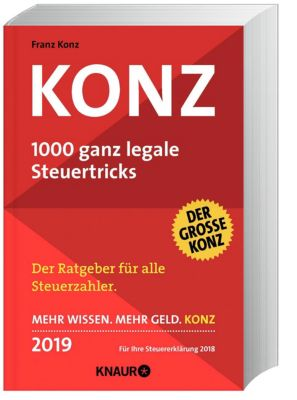 Konz, 1000 ganz legale Steuertricks 2019 - Franz Konz |