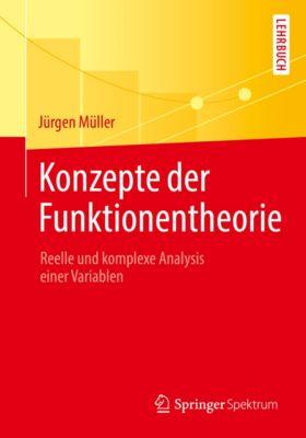 Konzepte der Funktionentheorie, Jürgen Müller