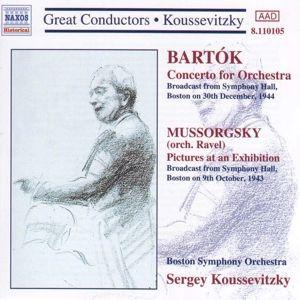 Konzert F.Orchester/Bilder Ei, Sergey Koussevitzky, Bso