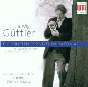 Konzert Für Drei Trompeten/+, Ludwig Güttler, Virtuosi Saxoniae
