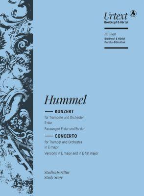 Konzert für Trompete und Orchester E-Dur/Es-Dur (Trompetenkonzert) - Johann Nepomuk Hummel pdf epub