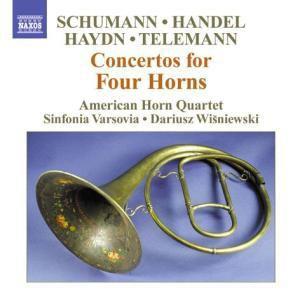 Konzerte für 4 Hörner, American Horn Quartett