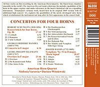 Konzerte Für 4 Hörner - Produktdetailbild 1