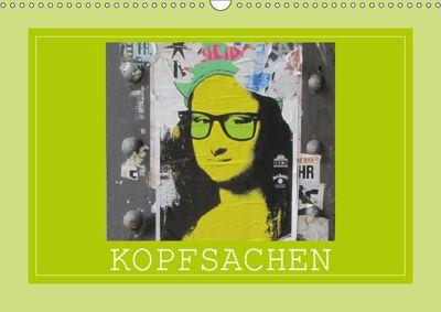 Kopfsachen (Wandkalender 2019 DIN A3 quer), Angelika Keller