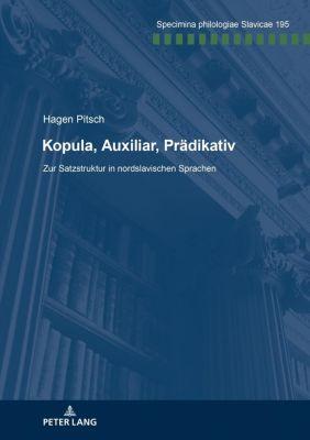 Kopula, Auxiliar, Prädikativ