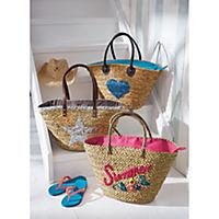 Korbtasche Summer Pink - Produktdetailbild 4