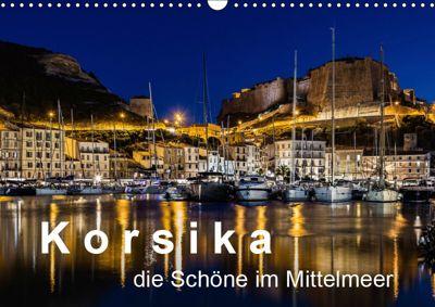 Korsika - Die Schöne im MIttelmeer (Wandkalender 2019 DIN A3 quer), Dirk Sulima