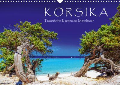 Korsika - Traumhafte Küsten am Mittelmeer (Wandkalender 2019 DIN A3 quer), Patrick Rosyk
