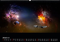 Kosmische Panoramen (Wandkalender 2019 DIN A2 quer) - Produktdetailbild 1