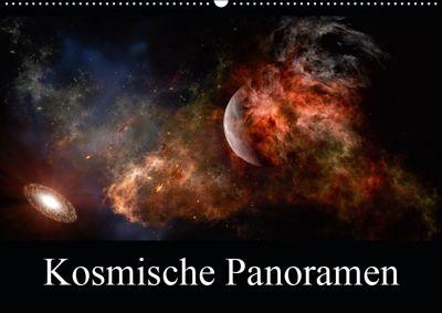 Kosmische Panoramen (Wandkalender 2019 DIN A2 quer), Alain Gaymard