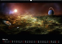 Kosmische Panoramen (Wandkalender 2019 DIN A2 quer) - Produktdetailbild 5