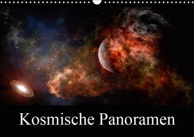 Kosmische Panoramen (Wandkalender 2019 DIN A3 quer), Alain Gaymard