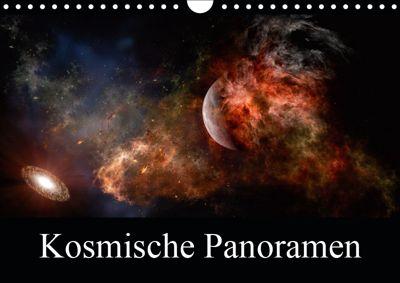 Kosmische Panoramen (Wandkalender 2019 DIN A4 quer), Alain Gaymard