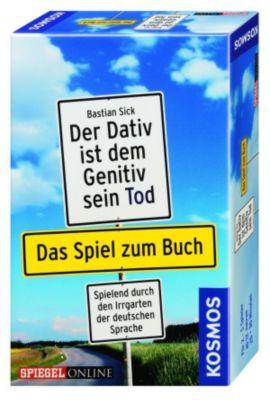 KOSMOS Der Dativ ist dem Genitiv sein Tod, Spiel zum Buch, Bastian Sick, Markus Reichert, Britta Schmider