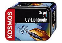 """KOSMOS - Die drei ??? """"UV-Lichtcode"""", in Metalldose - Produktdetailbild 1"""
