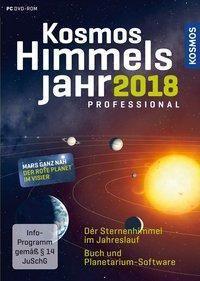 Kosmos Himmelsjahr professional 2018, m. DVD-ROM, Hans-Ulrich Keller