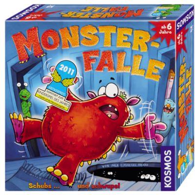 Kosmos Monster-Falle, Kinderspiel, Inka Brand, Markus Brand